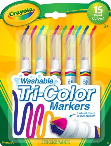 Crayola 10-Count Ultra Clean Expression Stamper Markers 2
